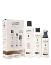 Nioxin Hair System 4 Kit Noticeably Thinning for Fine Chemically treated hair