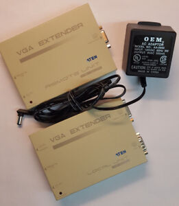 ATEN-VE-120R-Remote-AND-VE-120L-Local-VGA-Extenders-1-ea-120R-and-120L