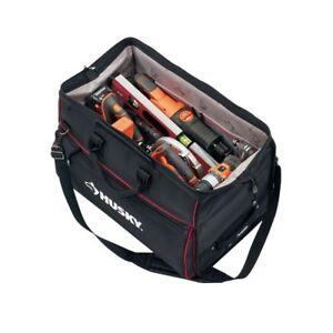 14b24dcad964 Husky 24 in. Big Field Duffle Storage Tool Tote Bag Heavy Duty Water  Resistant