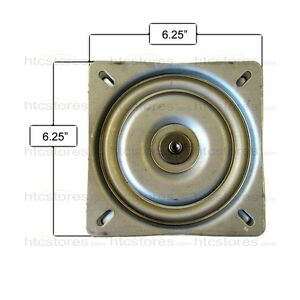 Bar Stool Replacement Flat Swivel Plate 6 25 Quot Made In Usa