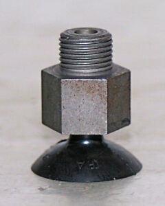 """Vacuum Suction Cup 1/8"""" Npt Metal Thread 1"""" Rubber Cup KAMMANN Maschinenbau"""
