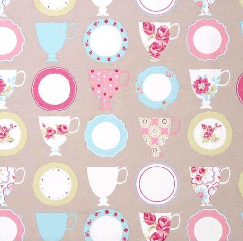 Abbygale de toalla teacups 50x137 cm vintage abigale Clark