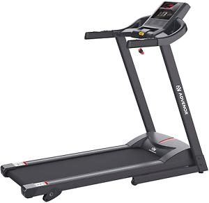 ADVENOR Motorized Incline Treadmill Motorized Folding Running Gym Exerciser LCD