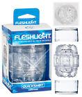 Fleshlight_QuickShot Vantage Masturbator Clear stimolatore uomo Flesh Light