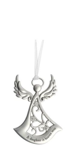 Ornament Charm Angel A Daughter is heaven sent Ganz ER25674
