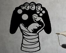 Gamer Controller Wandtattoo Wallpaper Wand Schmuck 56 x 72 cm Wandbild