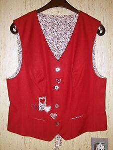 Details zu Trachten Damen Weste Gr. 38 NEU Landhausmode Damenweste Jacke Kleid Dirndl Hose