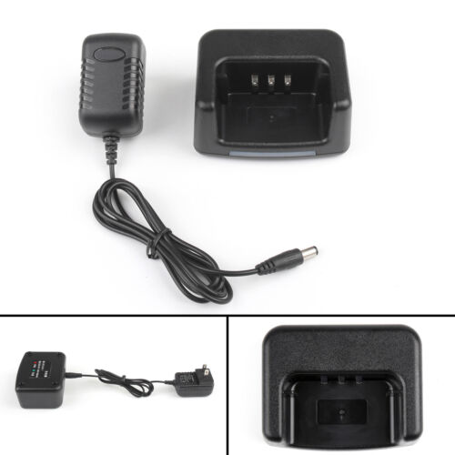 1Set Desktop Battery Charger For TYT MD-380 Two Way Radio USA Plug US