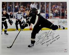Ryan Getzlaf Signed 07 Stanley Cup Champ 2x Olympic Gold 16x20 Canvas Pic 15/15