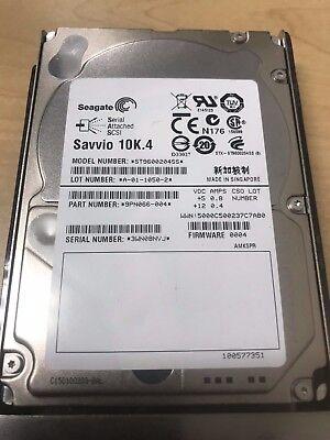 "SEAGATE SAVVIO 10K.4 600GB 2.5/"" ST9600204SS 9PN066-004 9PN006-046 Hard Drive"