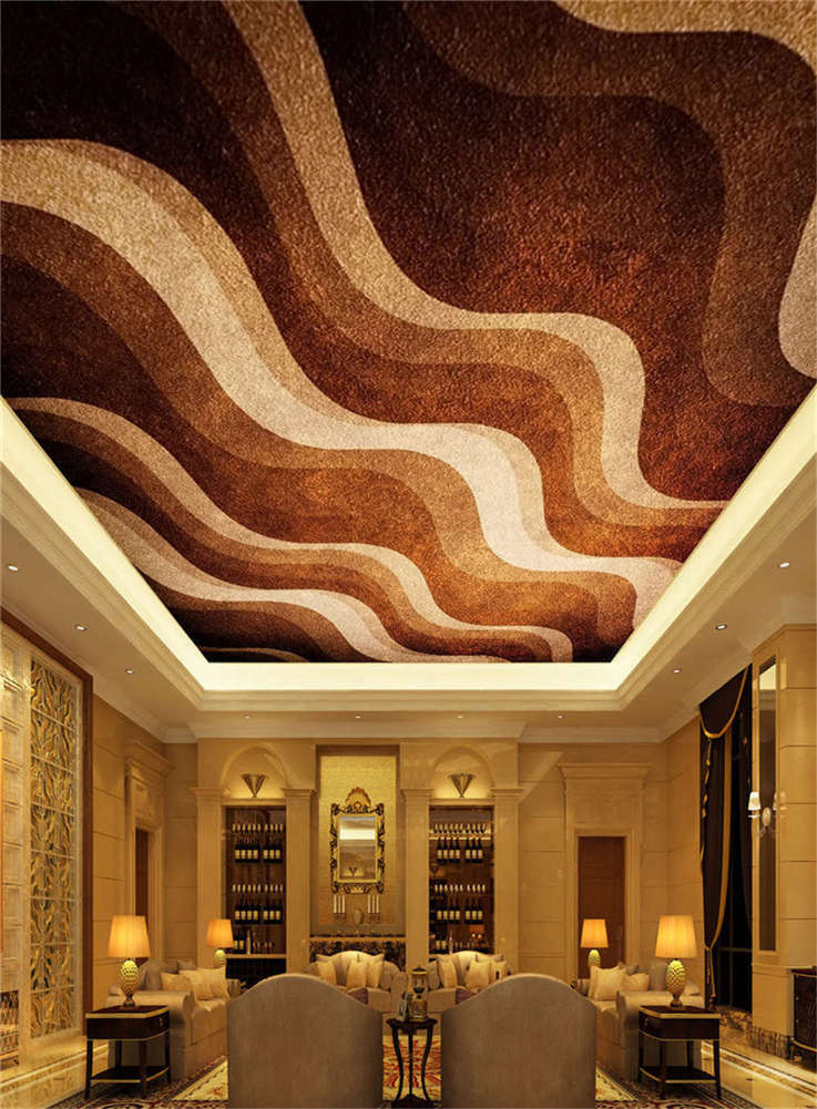 Chocolat Great Waves Full Wall Mural Photo Wallpaper Print 3D Ceiling Decor Home