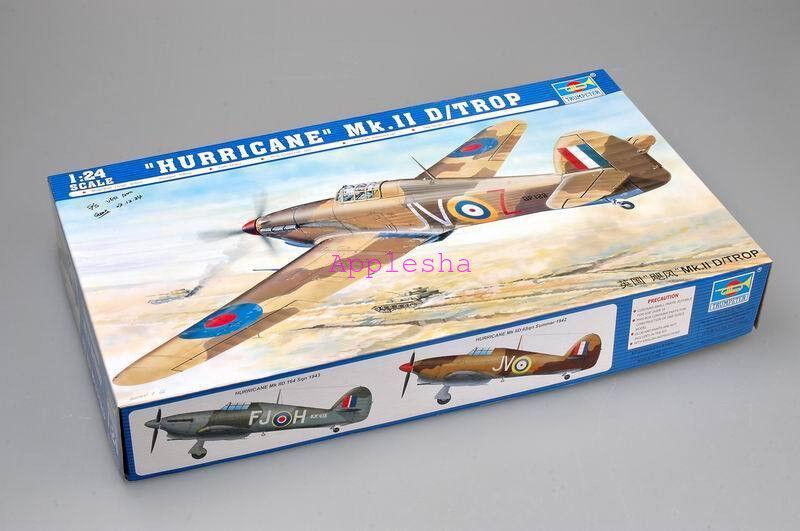 Trumpeter 02417 1 24 Hawker Hurricane Mk.IID Tropical