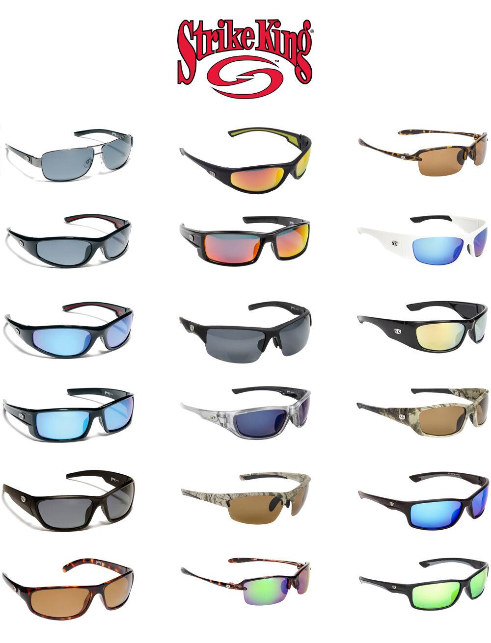 f63acdb4cb Strike King Plus Optics Polarized Sunglasses Black Revo P06