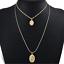 Fashion-Bohemain-Pendant-Chain-Necklace-For-Women-Multi-Layer-Choker-Statement thumbnail 17