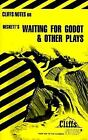 Waiting for Godot and Other Plays by Cliffs Notes Staff (1980, Paperback)