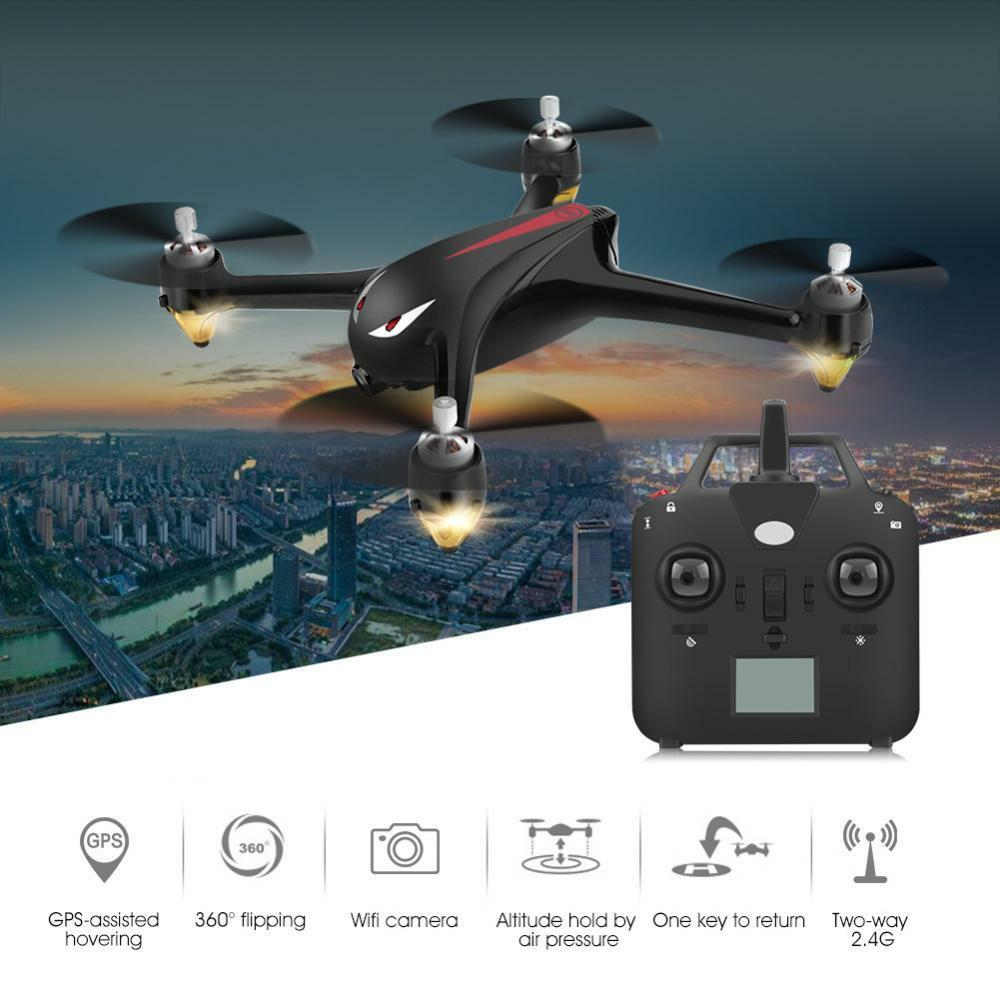 DRONE QUADRICOTTERO RADICOMANDATO WIFI GPS 5.8G FPV CAMERA HD 1080P VIDEO FOTO
