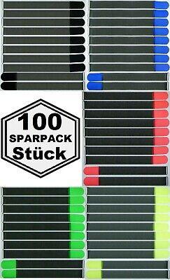 100x Kabelklett 500 X 50 Mm Fk 5 Unterschiedliche Farben Kabelbinder Klettbänder Quell Sommer Durst