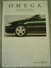 Vauxhall Omega I line styling brochure Feb 1997