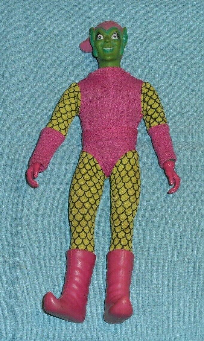 Vintage Mego WORLD'S  GREATEST SUPER-HEROES WGSH 8  vert GOBLIN  réduction en ligne