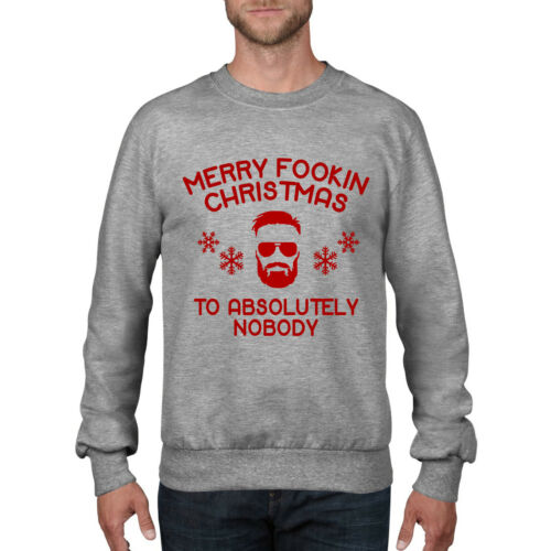 Conor McGregor FACE Apologise to Absolutely Nobody Christmas JUMPER Sweater CH43