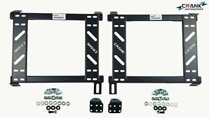 2x-Crank-Motorsport-Civic-EG-EK-DC2-Seat-adapter-rail-suit-BRIDE-RECARO-SPARCO