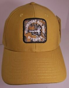 89043c782 Yellowstone Hat Cap Snapback Fly Fishing Wyoming Park USA Embroidery ...