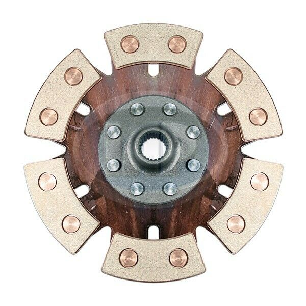 VW Bug Buggy Ghia Sand Rail 200mm / 6-puck Race Clutch Disc Ac141190b