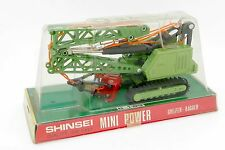 SHINSEI MINI POWER 1/93 PELLE A GODET BUCKET CRAWLER CRANE #4107 EN BOITE