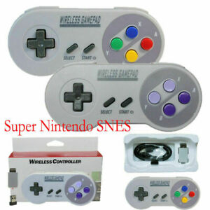 Wireless Controller Gamepad For Super SNES Classic Mini Game Console Nice