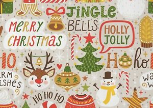 A1-Merry-Christmas-Santa-Snowman-Poster-Art-Print-60-x-90cm-180gsm-Gift-15451