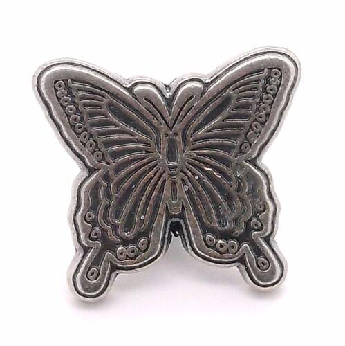 "Butterfly Decorative Snap Cap Antique Nickel 7//8/"" 1265-24 Steccksstore"