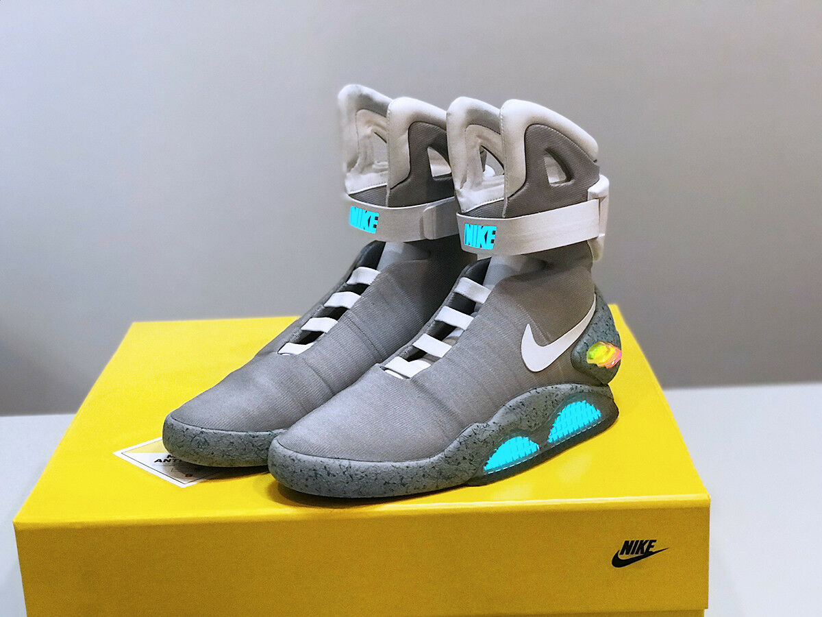 NIKE AIR MAG BACK TO THE FUTURE 2018 SIZE 9 DEADSTOCK Cheap and beautiful fashion