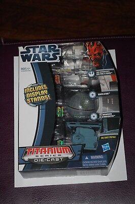 X-Wing Death Star TIE Advanced-Star Wars Vehicle-Titanium Series Three Pack-MOC