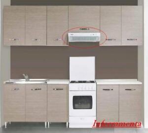 cappa elettrica 60 cm aspiratore per cucina componibile aspirazione ...