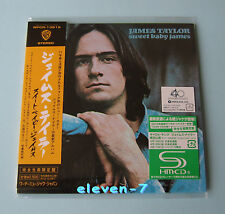 JAMES TAYLOR Sweet baby James JAPAN mini lp cd SHM (Carole King, Leonard Cohen)
