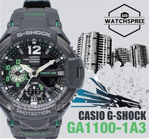 Casio-G-Shock-Gravitymaster-Series-Watch-GA1100-1A3-AU-FAST-amp-FREE
