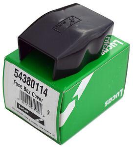 gen lucas fuse box cover 2 fuse many 60s 70s british cars 54380114 rh ebay com 70 nova fuse box 70 amp fuse box