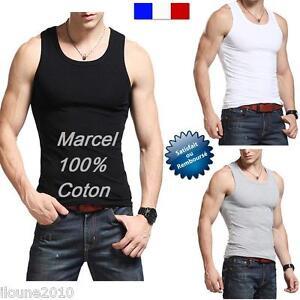 MARCEL-HOMME-TEE-SHIRT-DEBARDEUR-POLO-100-COTON-Slim-Fit-S-M-L-XL-XXL