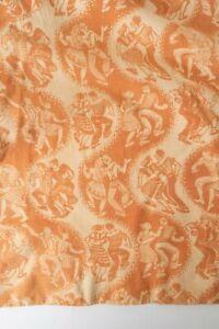 Vintage-1950s-Barkcloth-Rockabilly-Barn-Dance-Curtains-Drapes