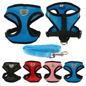 Breathable-Mesh-Fabric-Cat-Kitten-Harness-and-Leash-Set-Soft-Cat-Walking-Jacket