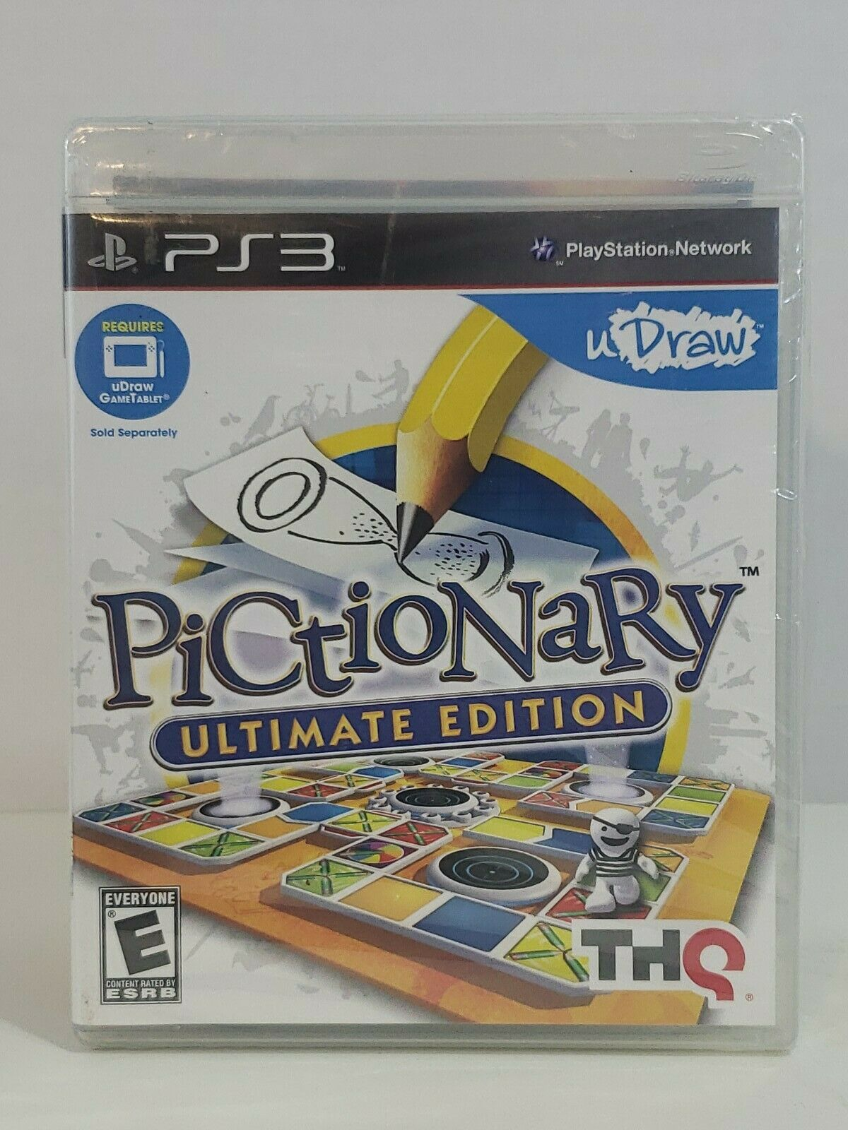 uDraw Pictionary Ultimate Edition: Playstation 3 NEW SEALED