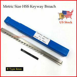 Metric Broach Keyway 5mm B Push Type Cutter /& Shim Involute Spline Cutting Tool