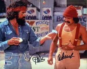 Cheech-And-Chong-BAS-Beckett-Coa-Signed-8x10-Photo-Autograph