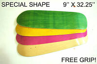 Blank Colour - Pool Old Skool Skateboard Deck - 9 X 32.25 - Special Hesh Cruiser
