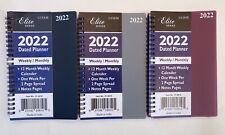 2022 Weeklymonthly Planner Organizer Student Agenda Calendar Spiral 5x8