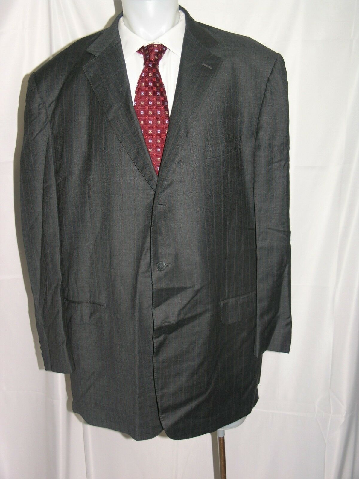 Ermänneregildo Zegna Transeasonal wolleSilk Three Roll Two Suit jacke 54 XL