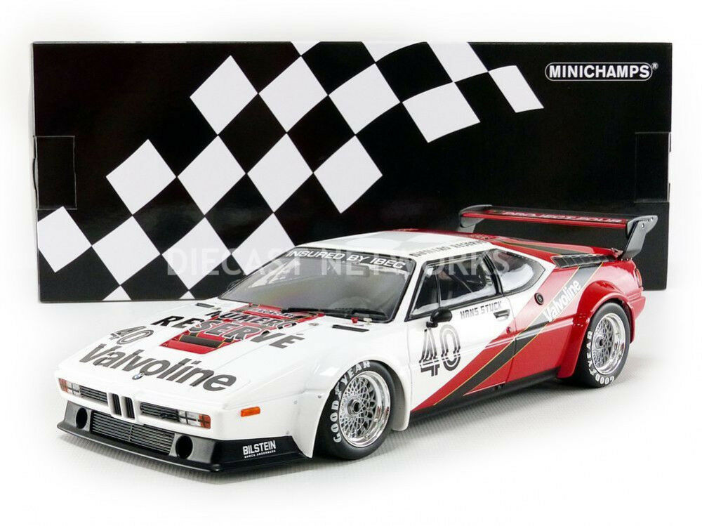 Minichamps BMW M1 Project Quattro Racing Winner Monaco Procar Serie 1980