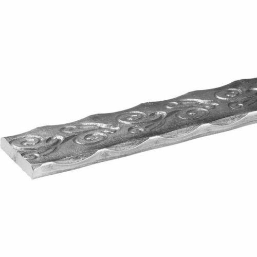 De-Luxe Heavy Duty Wrought Iron//Steel Adjustable Handrail with Pivoting Posts