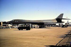 3-646-Rockwell-B-1-Lancer-United-States-Air-Force-Kodachrome-SLIDE