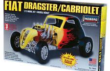 LINDBERG Fiat Dragster Cabriolet Model Kit  1/12